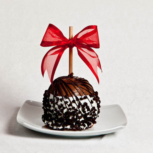 Double Chocolate Chip Caramel Apple