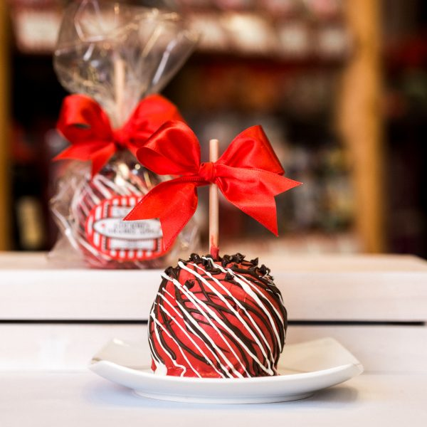 Cherry Chocolate Chip Caramel Apple Primary Image