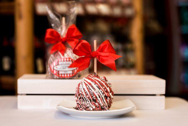 Dark Chocolate Peppermint Caramel Apple Primary Image