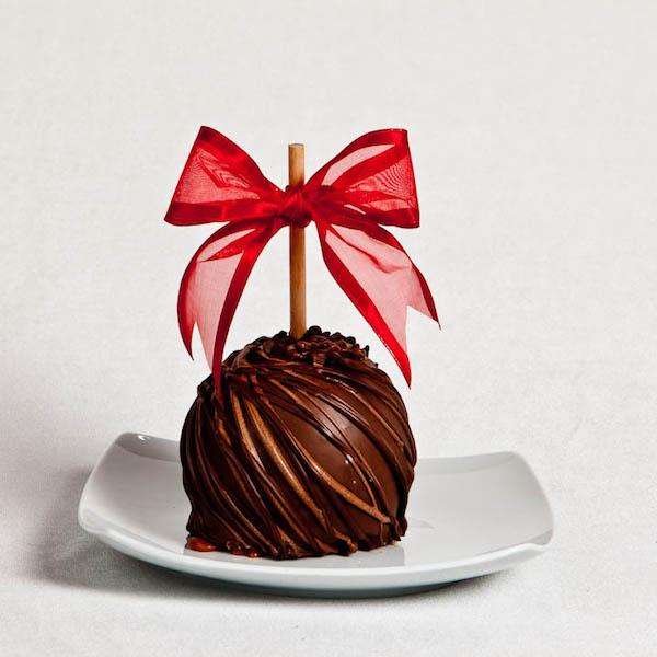 Death by Dark Chocolate Caramel Apple