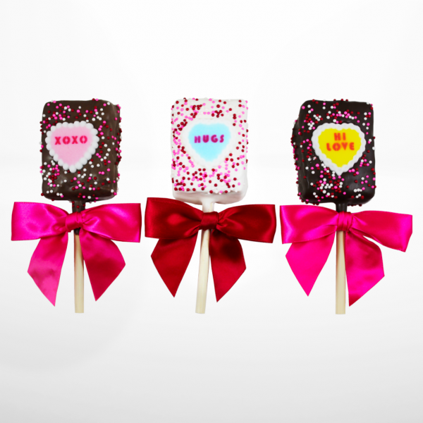 Valentines Krispys Candy Hearts